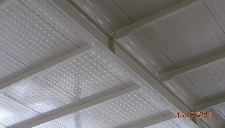 Wzmocnienie konstrukcji stalowej dachu taśmami węglowymi