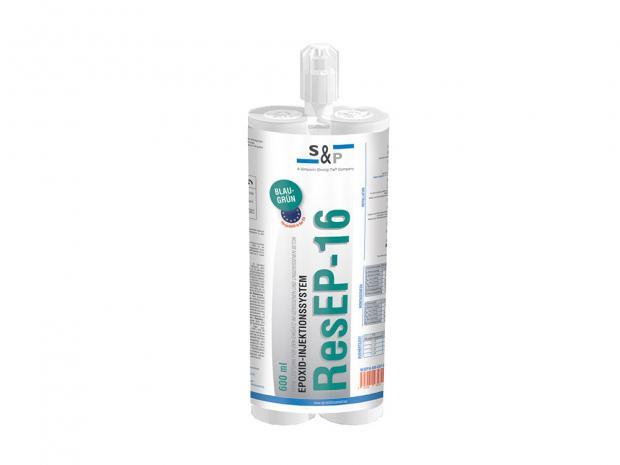 ResEP-16 - Wysokowydajny klej injekcyjny do zarysowanego i niezarysowanego betonu