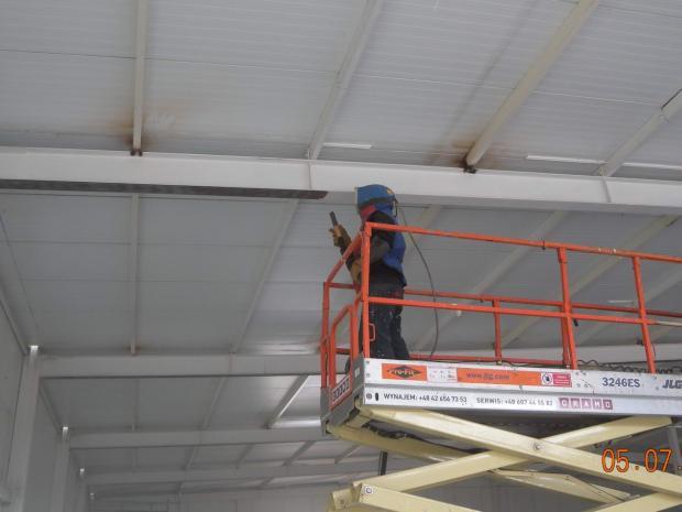 Przygotowanie elementów nośnych dachu